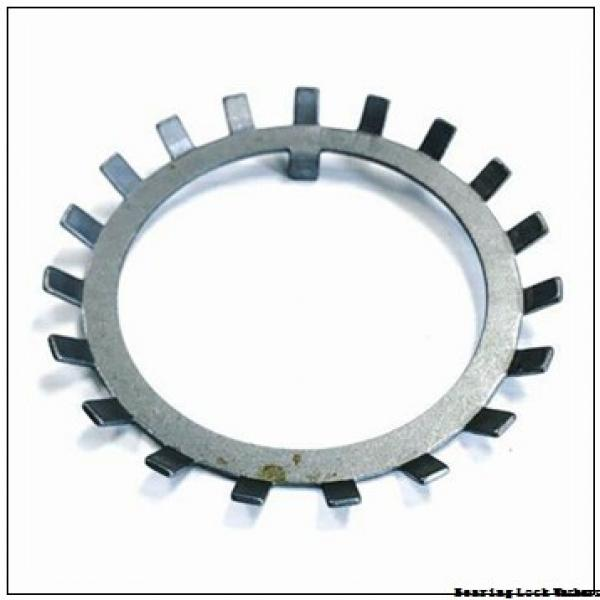 Standard Locknut W 028 Bearing Lock Washers #1 image